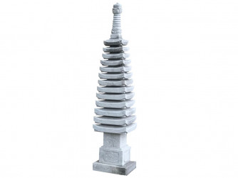 Pagoda Juu San So To 210 cm - granit